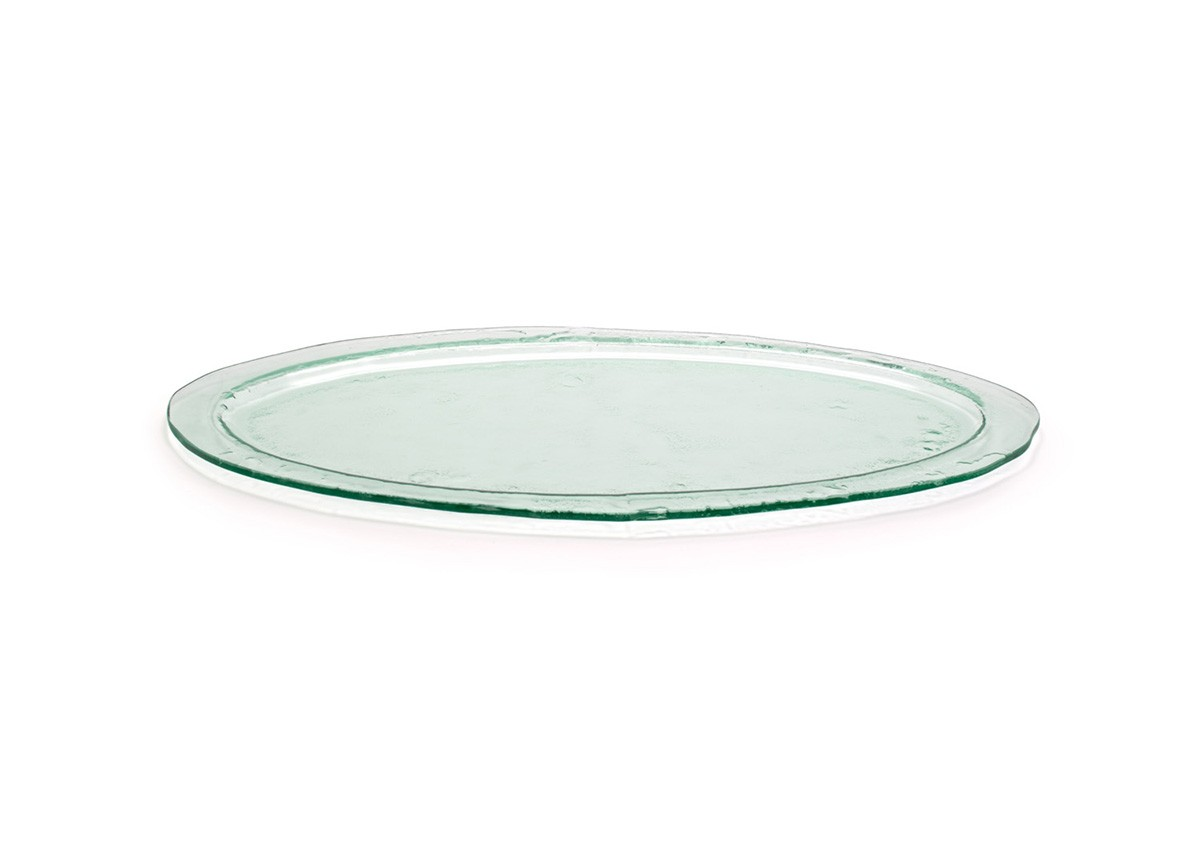 """24"""" Oval Arctic Platter - Clear"""