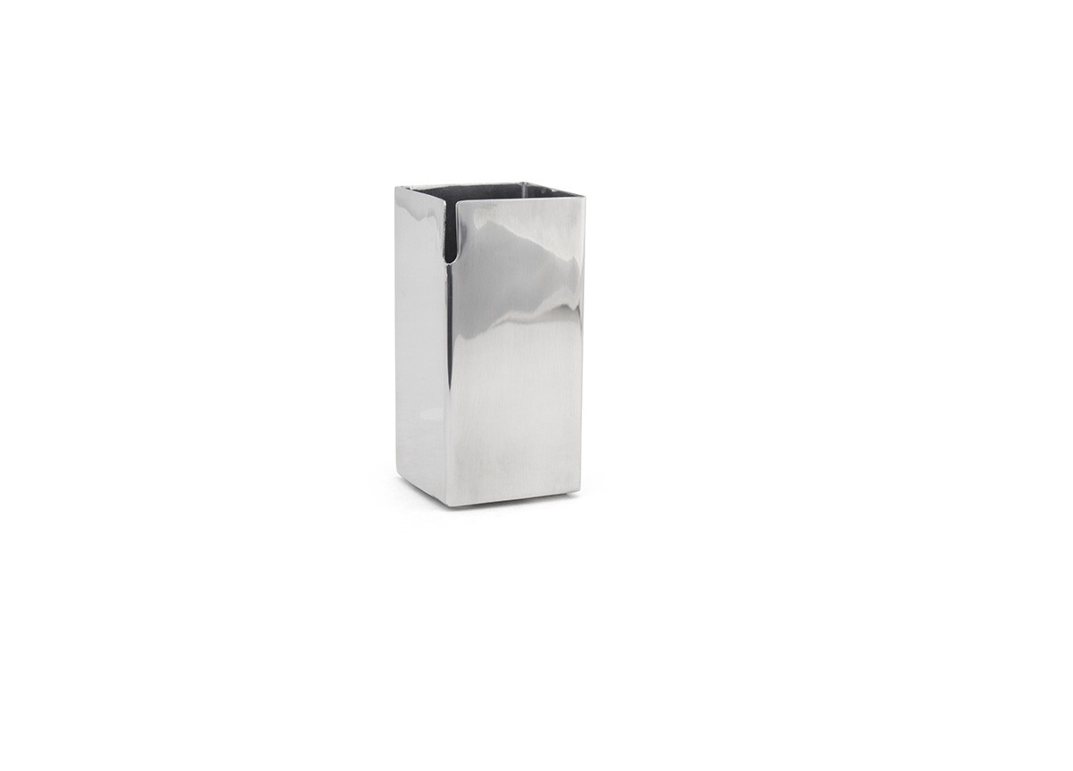 7 oz Mirrored Stainless Creamer - Silver