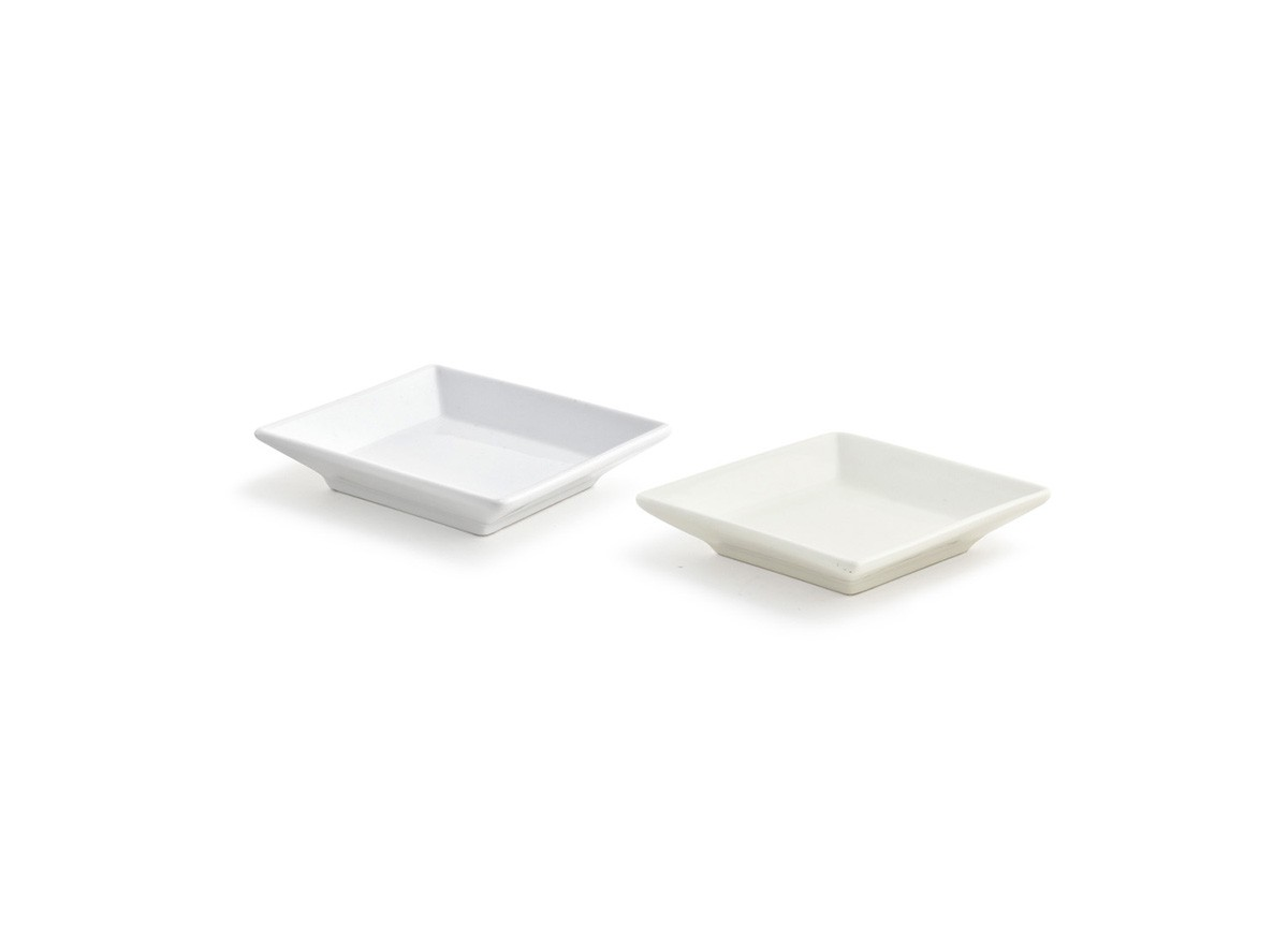 "3.5"" Square Catalyst Kyoto™  Dish - 1oz"