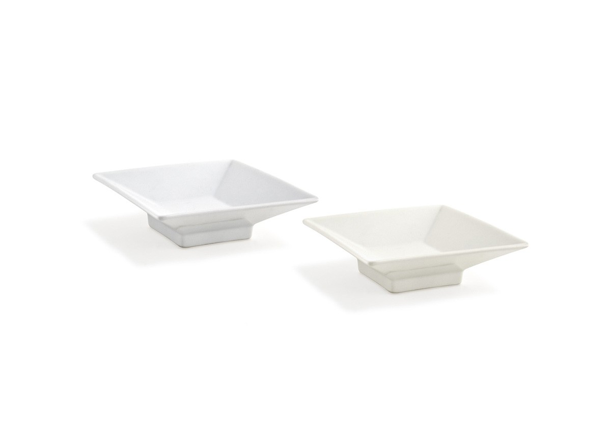 4oz Square Kyoto™  Footed Dish