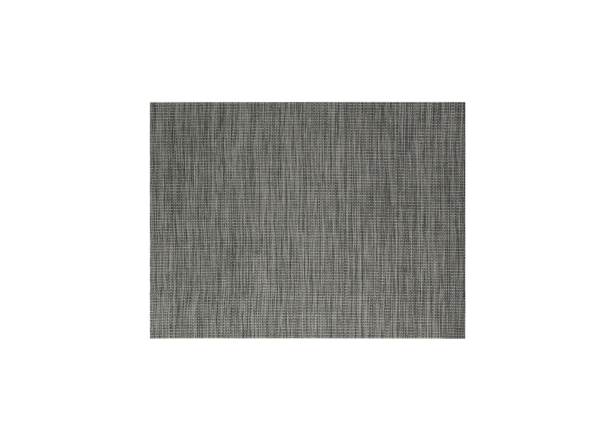 "16"" x 12"" Metroweave Tweed Mat - Black"
