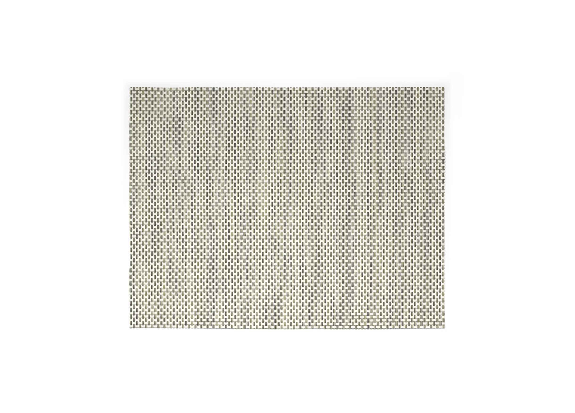 "16"" x 12"" Metroweave Basketweave Mat - Tan"