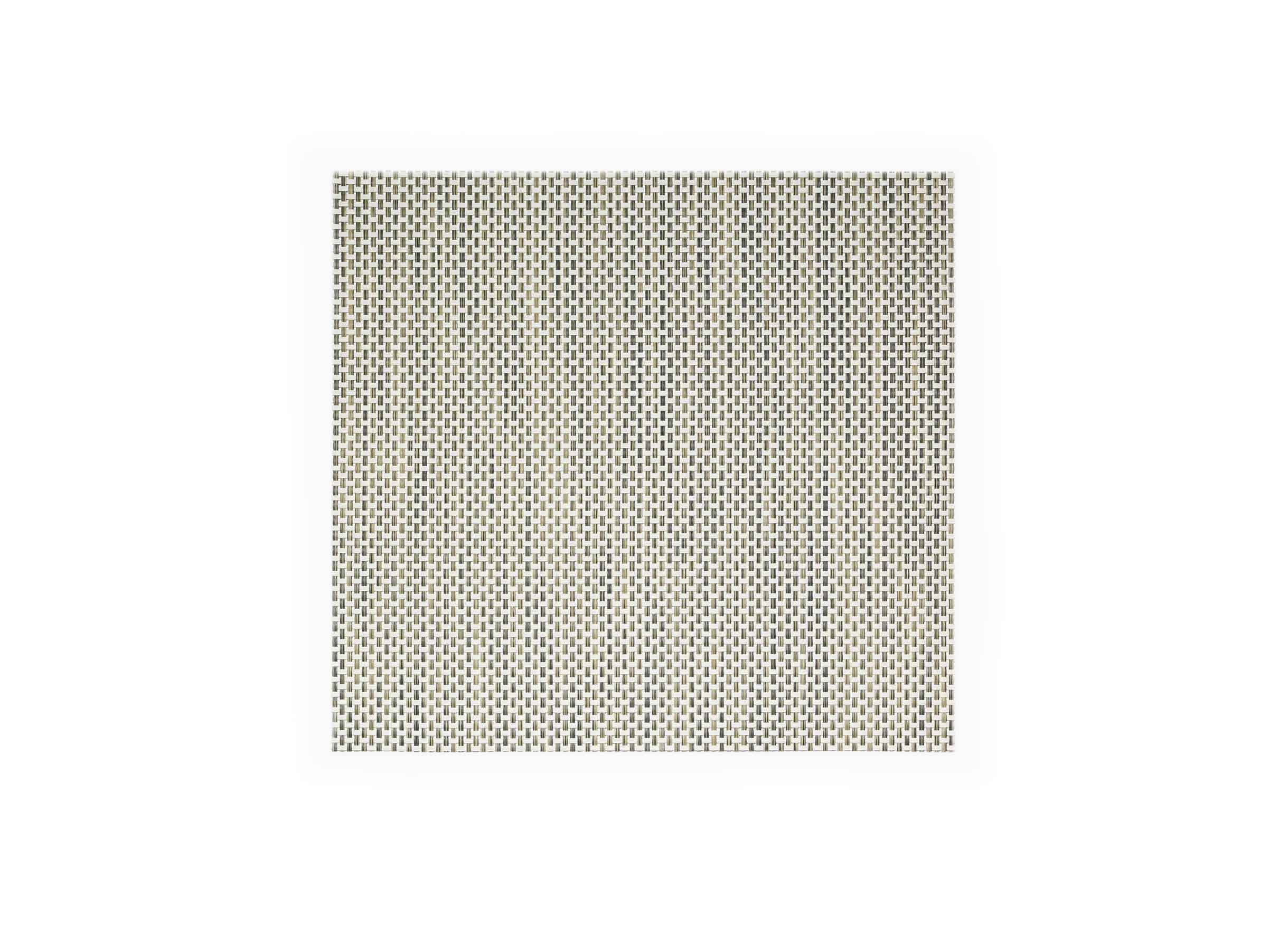 "14"" x 13"" Metroweave Basketweave Mat - Tan"