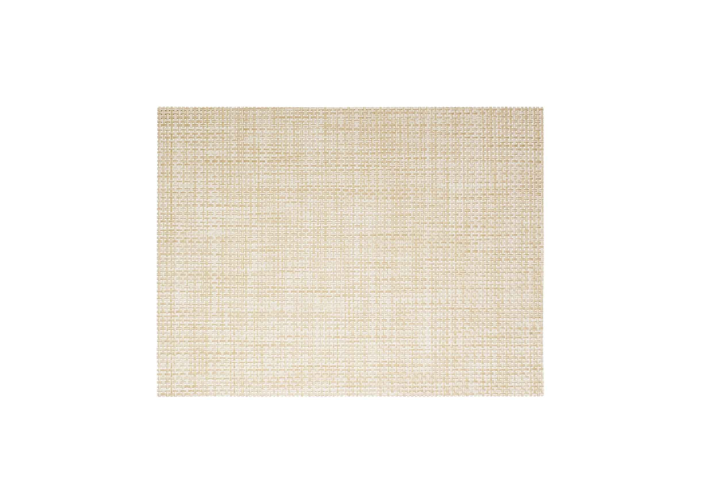 "16"" x 12"" Metroweave Basketweave Mat - Natural"
