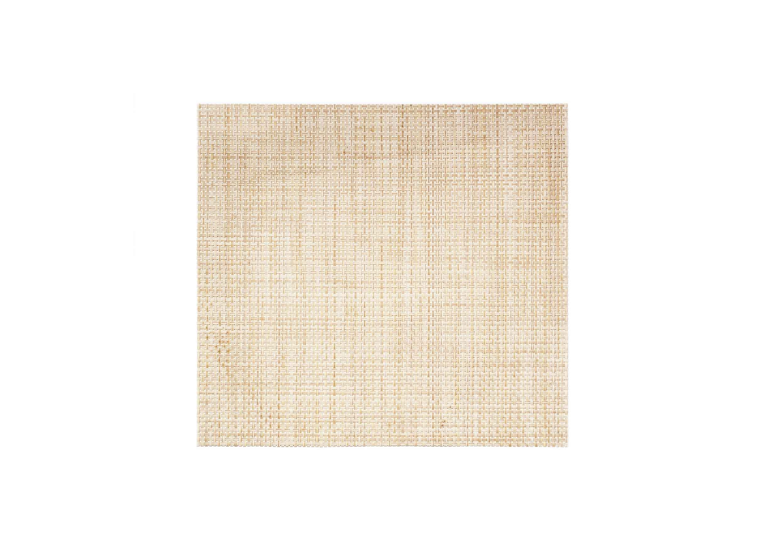 "14"" x 13"" Metroweave Basketweave Mat - Natural"