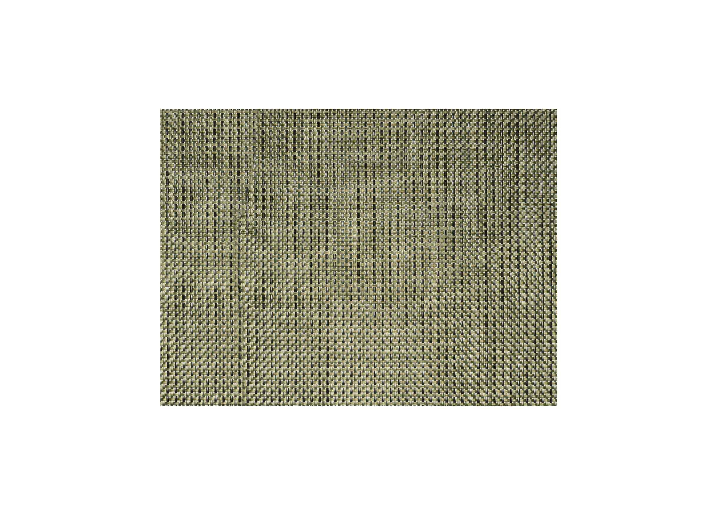"16"" x 12"" Metroweave Basketweave Mat - Gold"