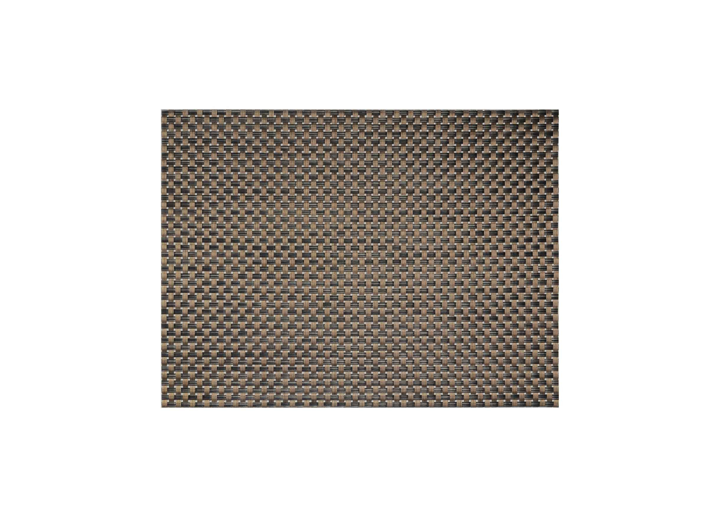 "16"" x 12"" Large Basketweave Mat - Copper"