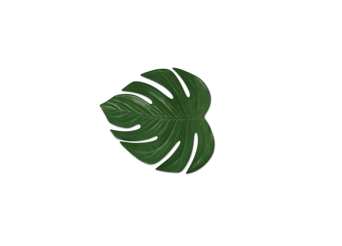 "9"" x 8.5"" Philodendron Leaf Mat"