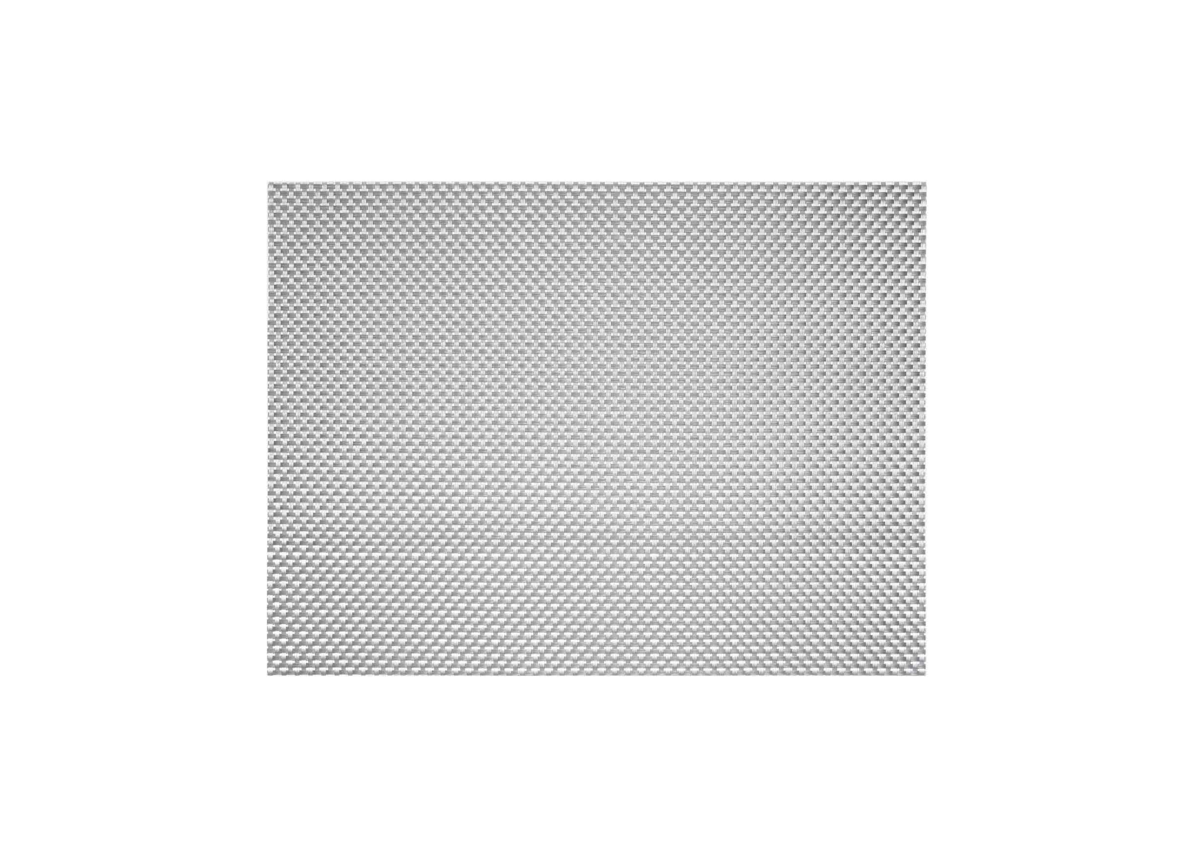 "16"" x 12"" Basketweave Mat - Pewter"