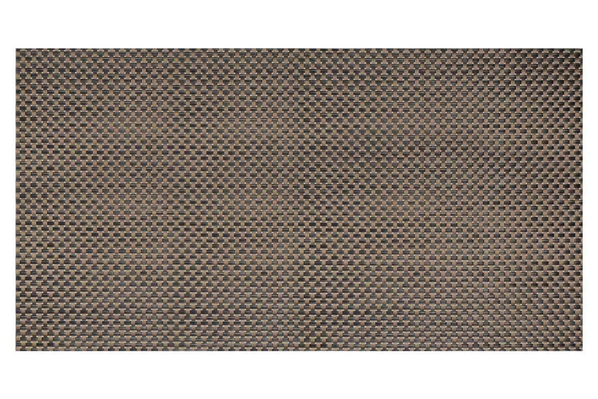 "29"" x 16"" Metroweave Large Basketweave Bistro Mat - Copper"