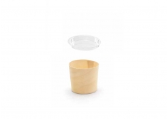 2.5oz Servewise®  Tall Ramekin and Cover