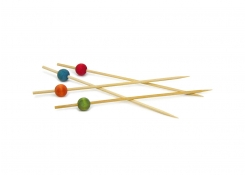 "6"" Ball Pick - Assorted - 100 per Bag"