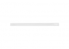 "8.75"" Long Lasting Wrapped Giant Paper Straw - White"