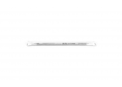 """5.5"""" Long Lasting Wrapped Paper Slim Straw – Black - Pack 2400"""