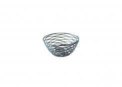 "5.5"" Round Patina Basket"