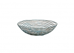 "10"" Round Patina Basket"