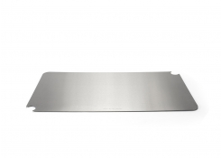 "19.5"" x 11.5"" Brushed Stainless Cooling Cover - Silver"