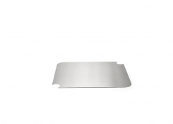 "11.5"" x 9"" Brushed Stainless Cooling Cover - Silver"
