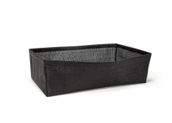 Full Size Metroweave®  Housing - Deep - Random Weave Black