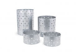 Dots Risers - Set of 4 - Silver