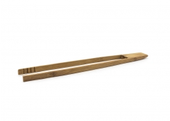 "12"" Bamboo Slim Tongs"