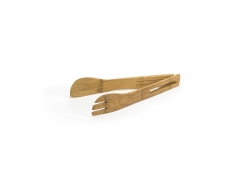 "12"" Bamboo Wide Tongs"