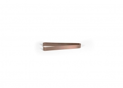 "7"" Brushed Stainless Tongs - Rose Gold"