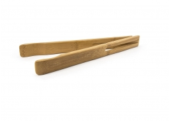 "12"" Bamboo Narrow Tongs"