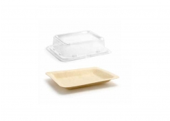 "4.75"" x 3.75"" Servewise®  Plate and Cover"