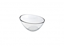 "7.25"" Round Kaleidoscope Slanted Bowl - 29oz"
