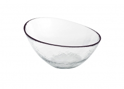 "11.75"" Round Kaleidoscope Slanted Bowl - 108oz"