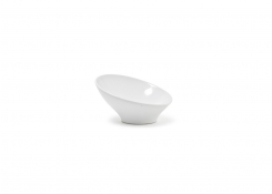 "5"" Round Slanted Bowl - 2oz"