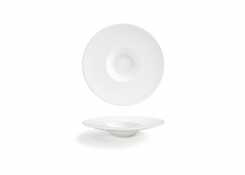 "9.25"" Round Wide Rim Monaco Bowl - 3.5oz"