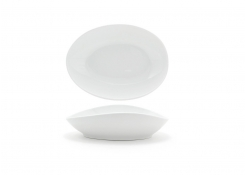"11"" Oval Tides®  Bowl - 40oz - White"