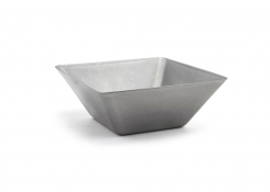 "5.5"" Square Stainless Mod®  Bowl - 21oz - Antique"