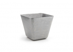 """3.75"""" Square Stainless Mod®  Tall Bowl - 19oz - Antique"""