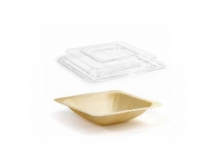 "6.5"" Square Servewise®  Bowl and Cover"