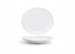 "12"" Oval Ellipse Plate"