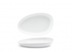 "11"" Oval Kiln®  Plate - White"