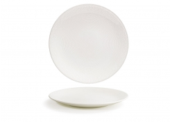 "11"" Round Catalyst Coupe Plate - Pearl"