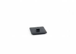 8oz Square Kiln Ovenware Lid - Black