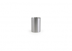 10oz Round Stainless Holder - Silver