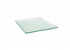 "12"" Square Arctic™  Flat Plate - Clear"