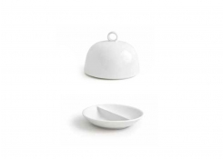 "3.75"" Round Monaco Divided Dish and Cover"
