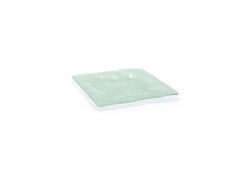 """8"""" Square Arctic Plate - Frosted"""