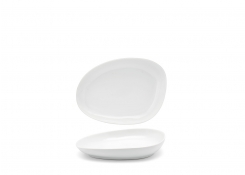 "8"" Oval Kiln®  Plate - White"