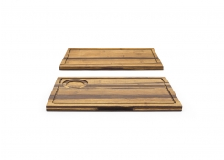 "14"" x 9""  Reversible Crushed Bamboo Board"