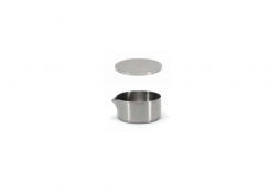 5oz Brushed Stainless Soho Pourer - Silver and Cover