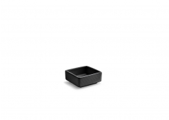 "2.75"" Square Spiral Dish - 3oz - Ink"