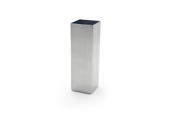 12oz Brushed Stainless Vase - Silver